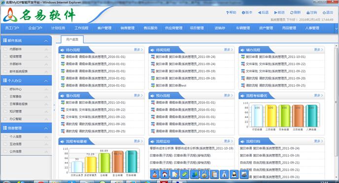 名易CRM客户关系管理软件