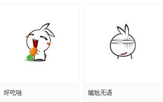鱼妹兔qq表情(qq)表情包的就是可爱得长麻烦图片