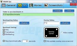 Fraps游戏录像软件