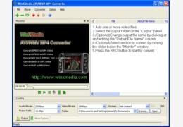 WinXMedia AVI iPod Converter (MP4 转换器) 绿色汉化版