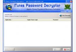 iTunes密码找回工具(iTunesPasswordDecryptor) 绿色免费版