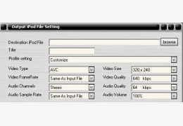 Aplus Video To iPod 绿色汉化版