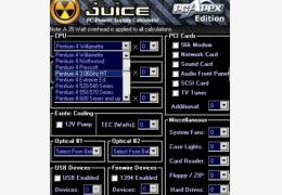 计算机耗能监控检测软件 Juice 单文件绿色版