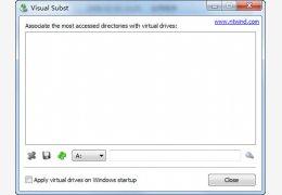 Visual Subst(虚拟硬盘软件)绿色免费版