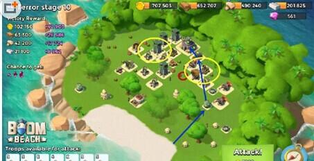 海岛奇兵游戏中,我们使用木材来升级自己的设施以